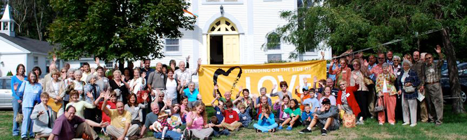 First Parish Unitarian Universalist Canton Massachusetts Standing on the Side of Love